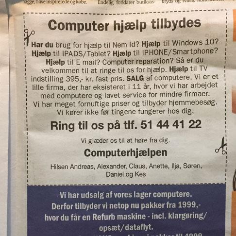 Computerhjælp